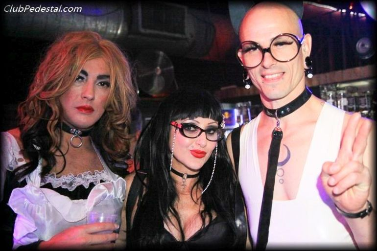 Domina V and Friends at Club Pedestal image